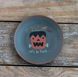 Frank Crazy Monster Plate