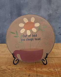 Sleepy Head Plate