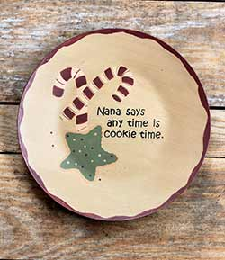 Nana's Cookie Time Plate