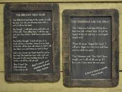 Fisherman & Sprat Folk Tale Blackboard