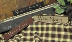Wine Zone Mini Sticks (Set of 4)
