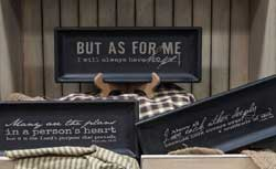 Scripture Distressed Tray