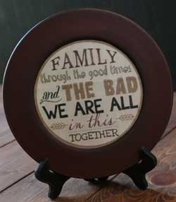 We're All In This Together Plate