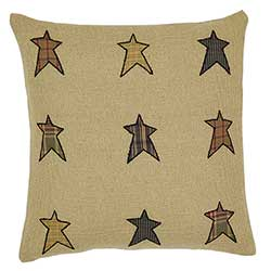 Stratton Applique Star Decorative Pillow (16 inch)
