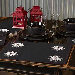 Christmas Snowflake Placemats (Set of 6)