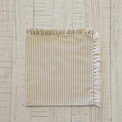 Ashton Taupe Napkins (Set of 6)