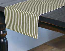 Harmony Olive Green 72 inch Table Runner