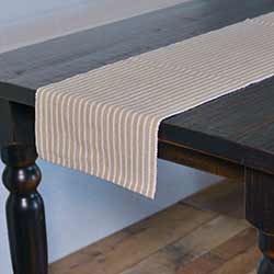 Harmony Taupe 90 inch Table Runner
