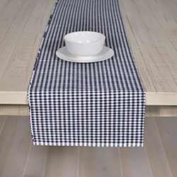 Tara Navy Blue 72 inch Table Runner