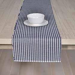 Tara Navy Blue 90 inch Table Runner