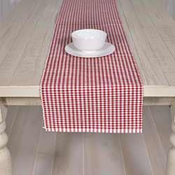 Tara Red 72 inch Table Runner