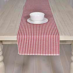 Tara Red 90 inch Table Runner