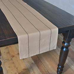 Lauren Slate Gray 72 inch Table Runner