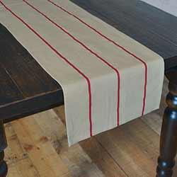 Lauren Rouge Red 72 inch Table Runner