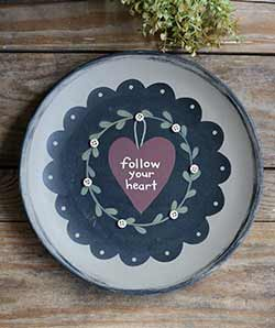 Follow Your Heart Plate