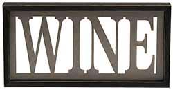 Wine Framed Sign