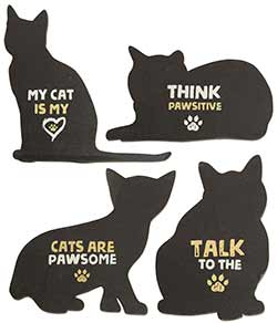 Cat Magnets (Set of 4)