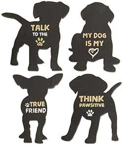 Dog Magnets (Set of 4)