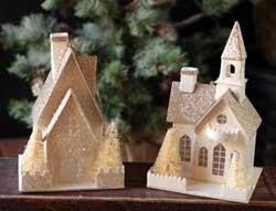 Emerald Cottage House Ornament