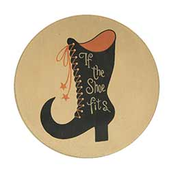 Witch Boot Plate