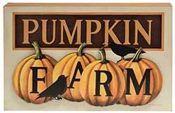 Pumpkin Farm Sign