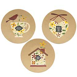 Sweet Moments To You Plates (Set of 3)
