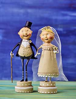 Wedding Belle & Lucky Fella (Set of 2)