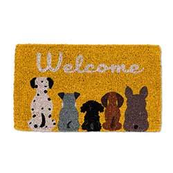 Dog Welcome Doormat