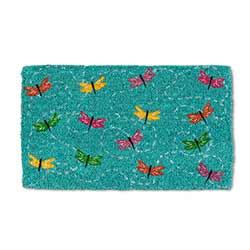 Flying Dragonflies Doormat