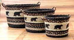 Cabin Bear Utility Basket
