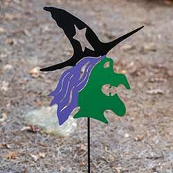 Witch Garden Stake