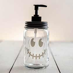 Jack O'Lantern Face Soap Dispenser