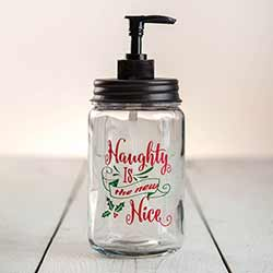 Naughty is the New Nice Soap Dispenser