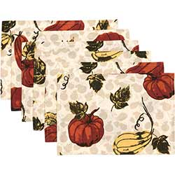 Harvest Garden Placemats (Set of 6)