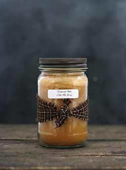 Cinnamon Bun Mason Jar Candle - 16 oz