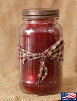 Christmas Spice Mason Jar Candle - 16 oz