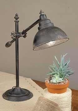 Industrial Swing Arm Desk Lamp