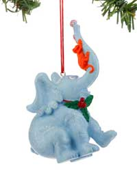 Horton & Monkey Ornament