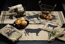 Cattle 54 inch Table Runner