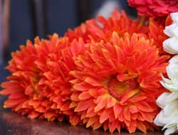 Chrysanthemum Bouquet - Orange
