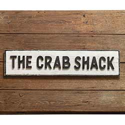 Crab Shack Wood Sign