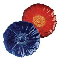 American Bloom Floral Plate