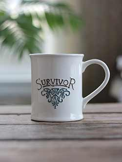 Ivory Survivor Mug