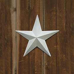 White Barn Star, 12 inch