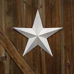 White Barn Star, 18 inch