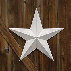 White Barn Star, 24 inch