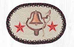 American Bell and Stars Braided Placemat