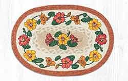 Flower Vine Braided Placemat