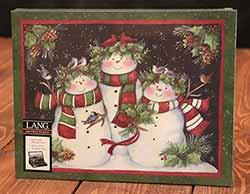 Snowmen Family Puzzle (500 piece)