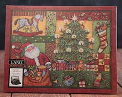 Patchwork Christmas Puzzle (500 piece)